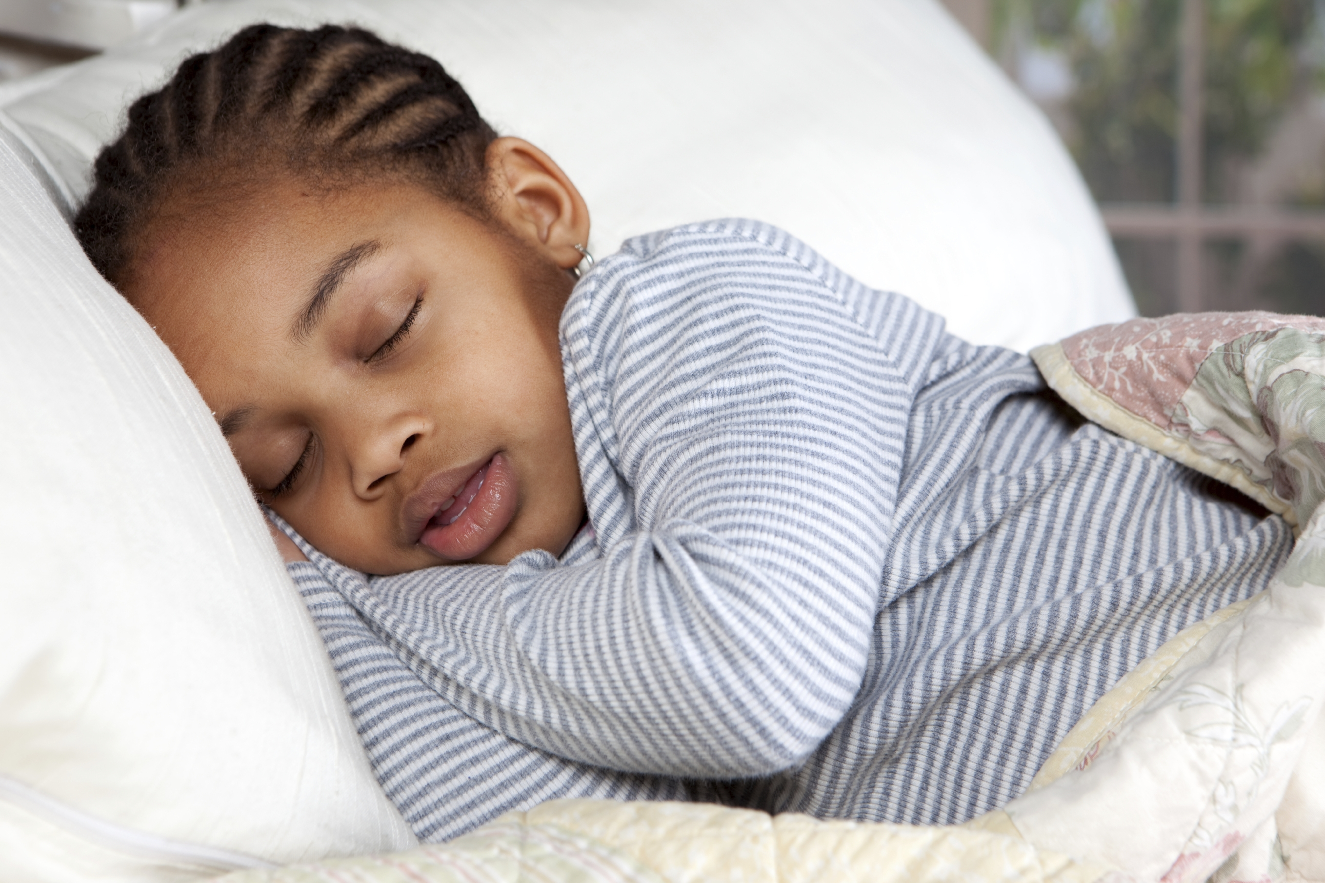 How does your child sleep