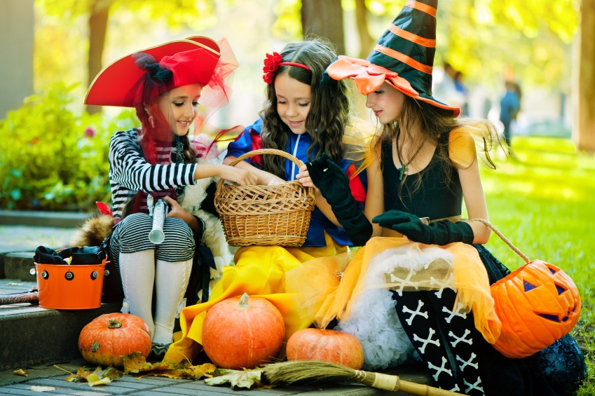 halloween safety tips for kids - Children Halloween Pictures